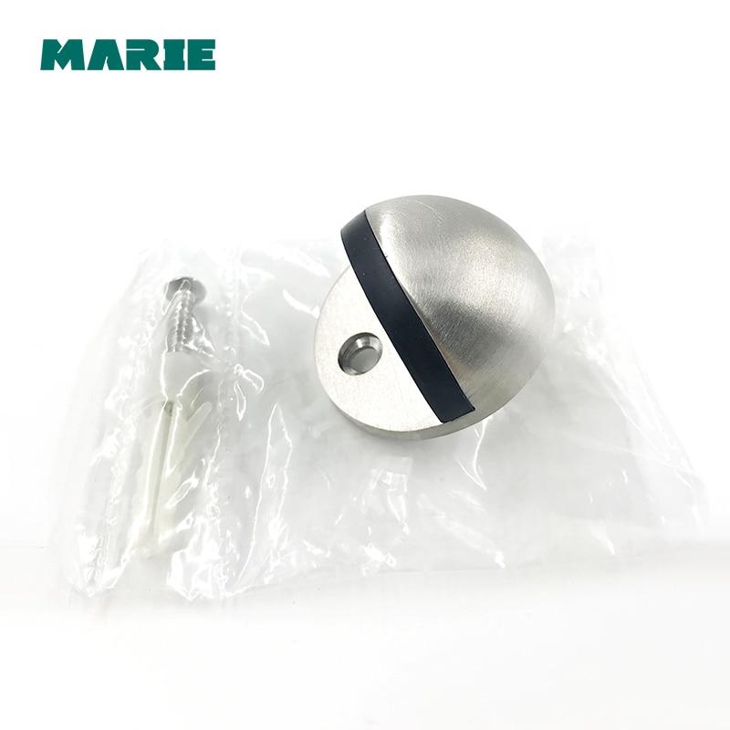 DS001Hardware Door Stops Suction Anti Collision Stainless Steel Door Stopper in Door Stops from Home Improvement
