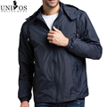 Большой размер 4XL 2016 весна лето мужские Sportwear новый бренд военная ветровка на открытом воздухе с капюшоном мода молнии куртки Z2206