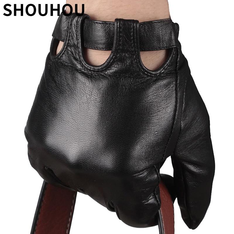 shouhou 2017 men winter gloves genuine sheepskin leather gloves male touch screen gloves fashion. Black Bedroom Furniture Sets. Home Design Ideas