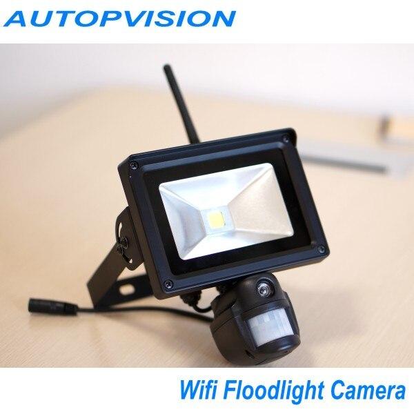 720P HD PIR Camera & Recorder with WIFI Module & PIR Floodlight & Motion Sensor недорго, оригинальная цена