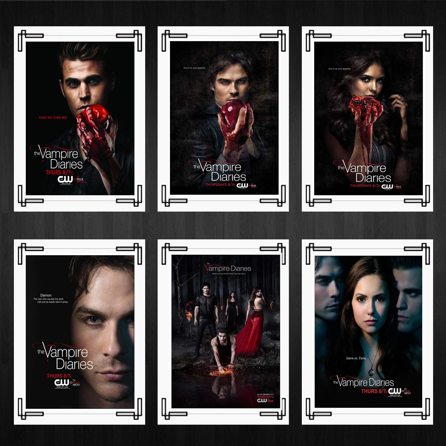The Vampire Diaries Posters Tv Series Posters Home Room Decor High