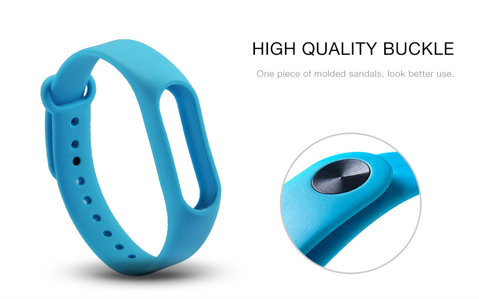 Teyo Silicone Replacement Wrist Strap For Xiaomi Mi Band 2 Smart Band Accessories Miband 2 for Xiaomi Mi Band 2 Smartband Sraps 6