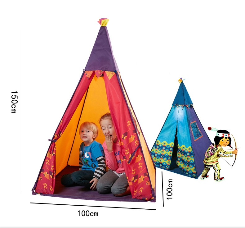 YARD Princess Castle Cute Playhouse Kids Tent Play Yard Tent Indian Play Tent Children foldable play tent kids children boy girl castle cubby play house bithday christmas gifts outdoor indoor tents