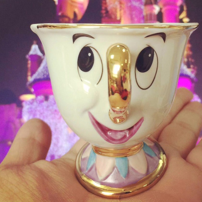 Beauty and the Beast Mrs Potts son Chip Only Mug Tea Coffee Cup Lovely Birthday CUTE
