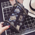 2016 New Pattern Woman Package European Badge Embroidery Thread Chain Package Single Shoulder Satchel Tide Ma'am Bag