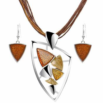 Fashion Geometric Jewelry Sets Jewelry Jewelry Sets Women Jewelry Metal Color: F1065A