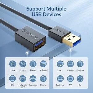 Image 5 - Удлинительный кабель ORICO USB 3,0 2,0, кабель «Мама папа», удлинитель для передачи данных для умных устройств, 0,5 м/1,0 м/1,5 м/2,0 М/3,0 м
