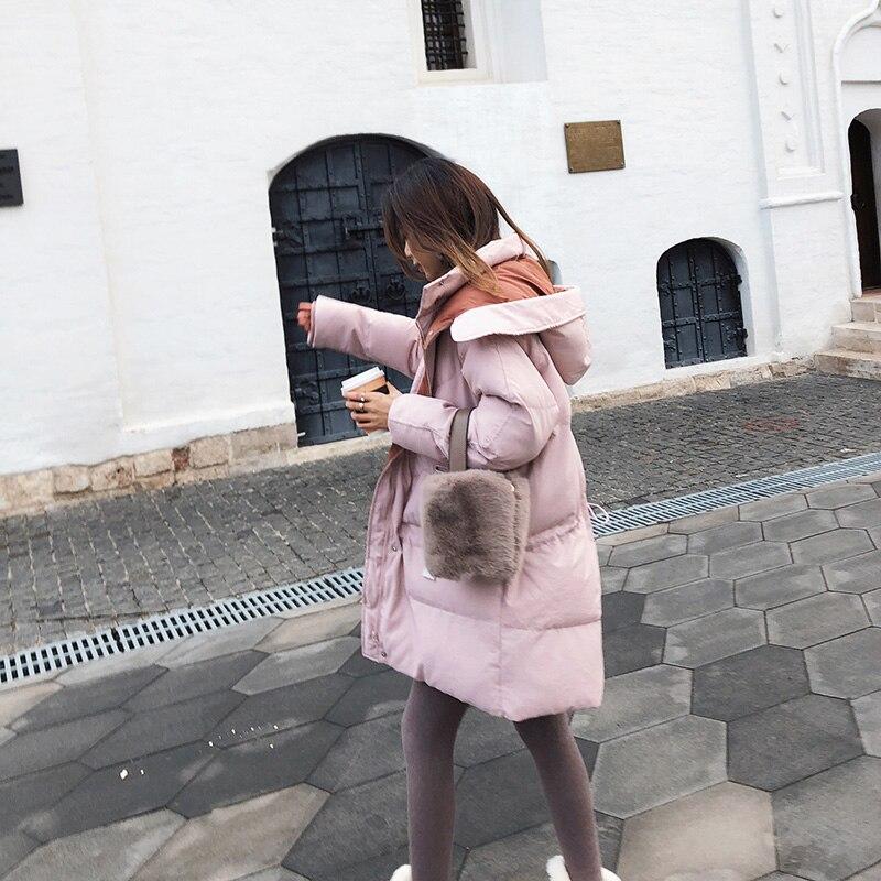 Rose Femmes Mx18d8318 Chaud Épaississent Mishow Coupe 2018 D'hiver Et Manteau De Lâche Vêtements Pqqd7