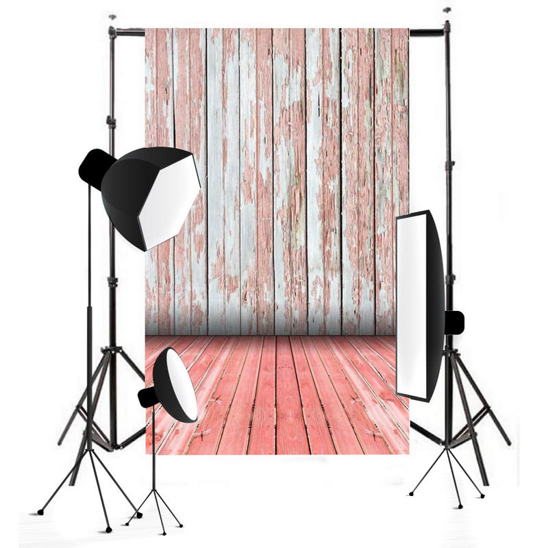 Onsale 1pc 3x5FT Waterproof Vinyl Retro Wall Backdrop Wood Floor Photography Background Photo Props Mayitr huayi 4pc 2x2ft wood floor brick wall backdrop vinyl photography backdrops photo props background small object shooting gy 019