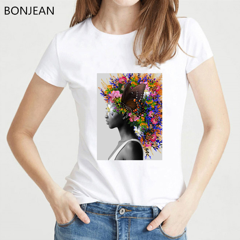 <font><b>Summer</b></font> <font><b>2019</b></font> female <font><b>t</b></font>-<font><b>shirt</b></font> <font><b>harajuku</b></font> Sexy <font><b>shirt</b></font> <font><b>flowers</b></font> butterfly printed tshirt femme Vintage <font><b>t</b></font> <font><b>shirt</b></font> <font><b>women</b></font> Aesthetic Clothes image