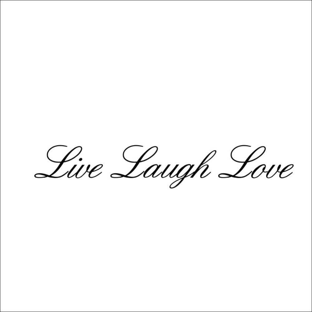 Home Garden Home Decor LIVE LAUGH LOVE Wall Art Quote Wall Sticker Vinyl  Decal Home Art Decor Paper Wall Stickers Wall Mural In Wall Stickers From  Home ...