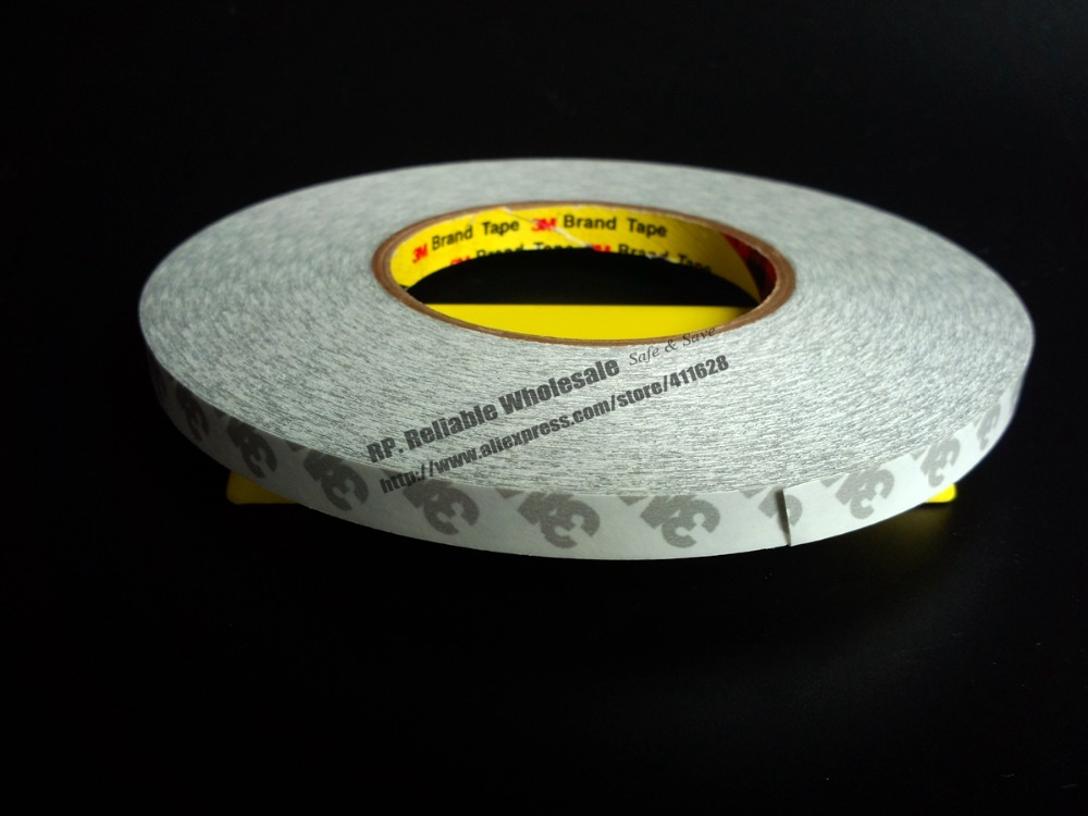 1 Roll 20mm (or 18mm/ 19mm) * 50meters 3M9080 Double Sided Adhesive Tape Widely Use for LED Panel Strip, Electrical Touch Screen 50 meters roll 0 2mm thick 2mm 50mm choose super strong adhesive double sided sticky tape for cellphone tablet case screen