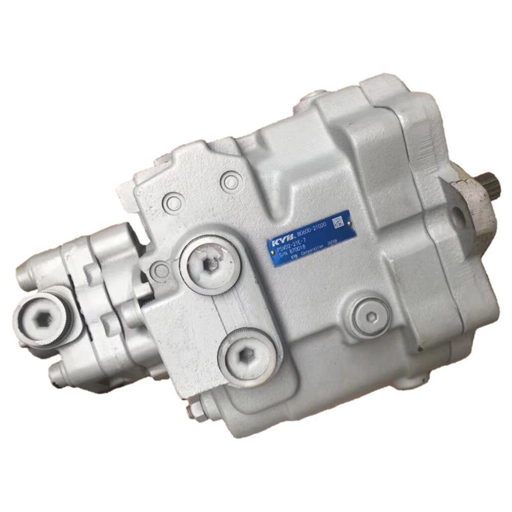 Pompe hydraulique de PSVD2-21E-7 de pompe d'excavatrice de pompe de KYB pour l'excavatrice de YC-35