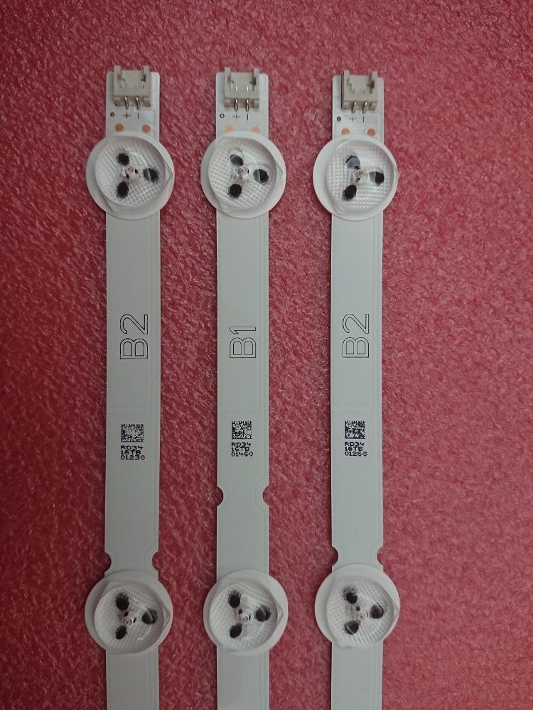 ใหม่ Original 10 เซ็ต = 30 ชิ้น 7LED 630 มิลลิเมตร B1/B2 Type LED Backlight สำหรับ LG 32LN541V 32LN540V 6916L 1437A 6916L 1438A LC320DUE-ใน ชิ้นส่วนและอุปกรณ์เสริมสำหรับเปลี่ยน จาก อุปกรณ์อิเล็กทรอนิกส์ บน AliExpress - 11.11_สิบเอ็ด สิบเอ็ดวันคนโสด 1