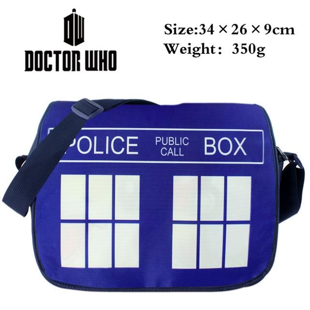 Школьная сумка Доктор кто Тардис