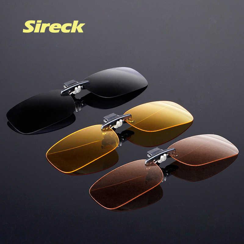 51235c5d5a Sireck Professional Anti-UV Polarized Clip On Sunglasses Ultralight TR90  Sport Cycling Fishing Glasses Clip
