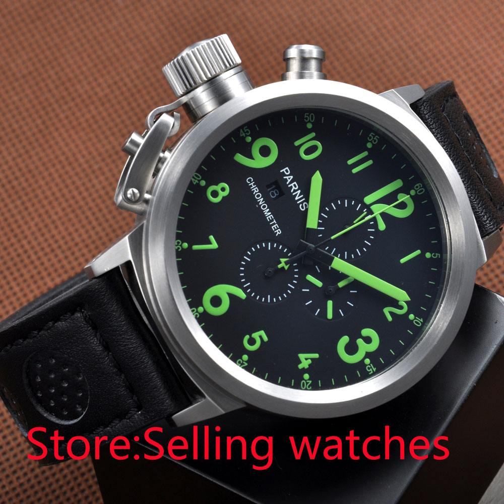 lefty watches reviews online shopping lefty watches reviews on 50mm green numbers big face chronograph lefty crown men s date luminous watch