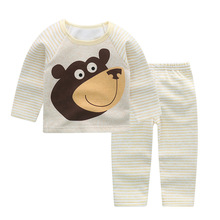Winter Pullover Cartoon Baby Girls and Boys Clothes warm Cotton Baby's Sets AH2875-2886