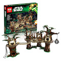 1990pcs Lepin Star Wars Ewok Village Building Blocks Juguete para Construir Bricks Christmas Gift Toys Compatible legoest 10236