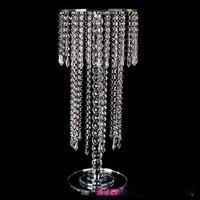 VIP 30/ 40 /60 cm tall Acrylic Crystal Wedding Centerpiece vase/ crystal candlestick Wedding Decor road leads