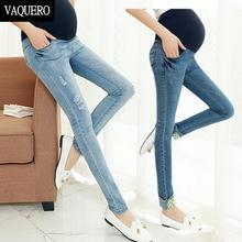Skinny специальное предложение джинсовые беременность эластичный материнства fit пояс джинсы лето