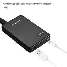 Udoli 60 watt dual usb typ c desktop notebook laptop adapter ladegerät für macbook 12 zoll, ChromeBook Pixel, Razer Stealth