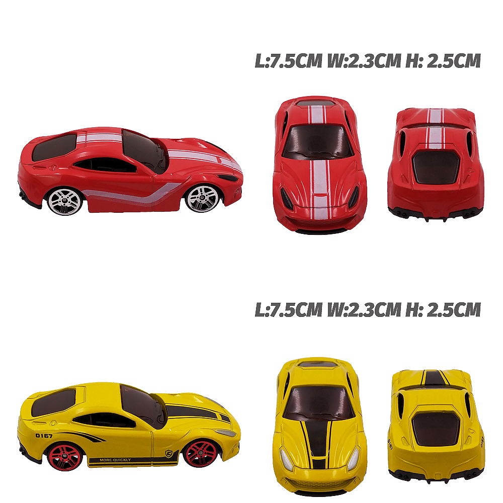 6in1 Metal Car Toy Alloy Diecast Toys Vehiocle Model 6pcs Truck Race Car Play Set Mini Cars for Boys Gift for Kids in Diecasts Toy Vehicles from Toys Hobbies