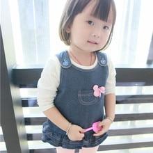 2016 dress girls outerwear font b baby b font children s vest Jackets for children child