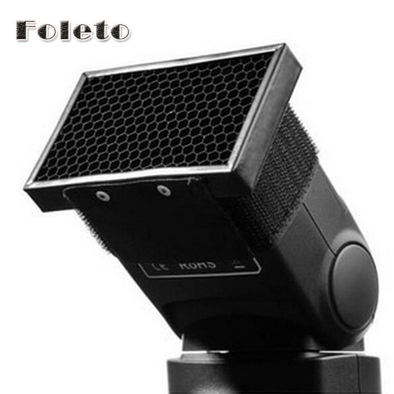 HC-01 Honeycomb Honey Comb Grille Soft Box Flash Diffuseur Softbox Videur pour Canon 580EX 430EX 380EX SB600 AB800 DB900 Promotion