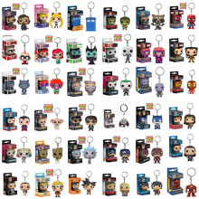 FUNKO POP New Bolso Keychain Pop Oficial Super Herói Personagens de Anime Action Figure Collectible Modelo Brinquedos Para Presentes Com Caixa(China)
