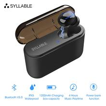 Original SYLLABLE Q32 True Wireless Stereo bluetooth V5.0 earphone noise reduction headset sweatproo