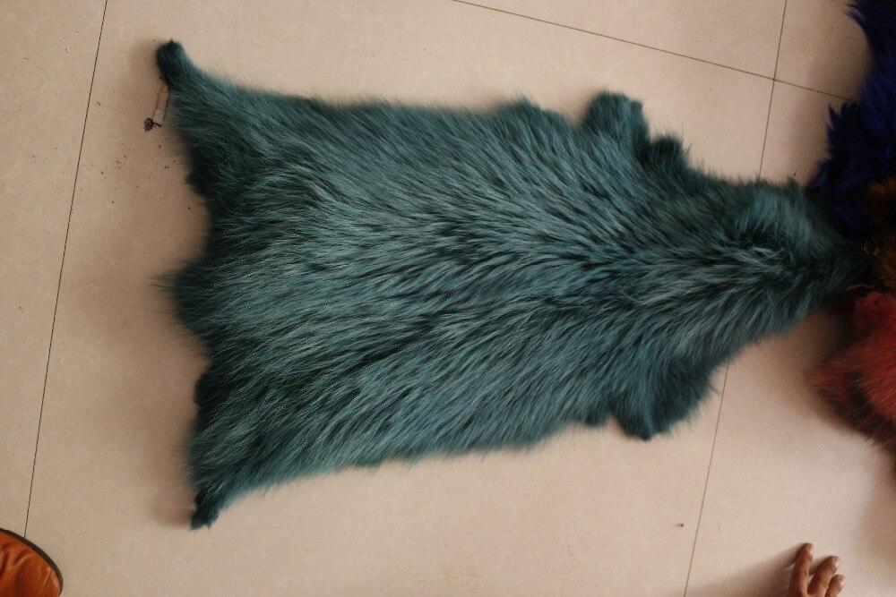 Prix usine bonne qualité réel teint peau de raton laveur