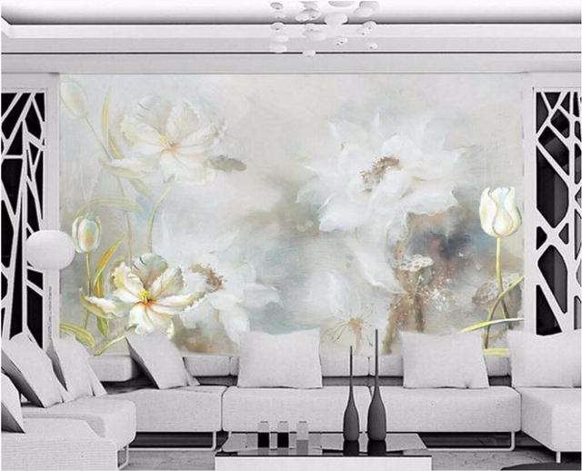 beibehang custom portrait mural wallpaper 3d stereo european simplebeibehang custom portrait mural wallpaper 3d stereo european simple white hand painted oil painting background wall
