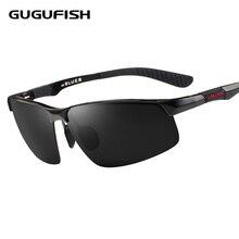 GUGUFISH Aluminum magnesium polarized sunglasses male Fishing glasses leisure fishing eyewear ride