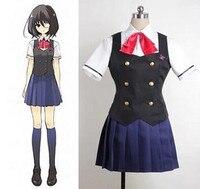 Another Misaki Mei Akazawa Izumi costume anime cosplay girls japanese school uniform skirt Custom made