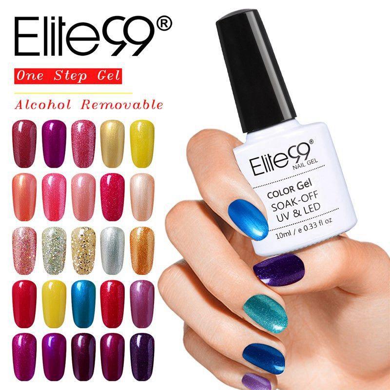 Elite99 All 100 Pcs Set DHL Free Shipping UV Nail Polish