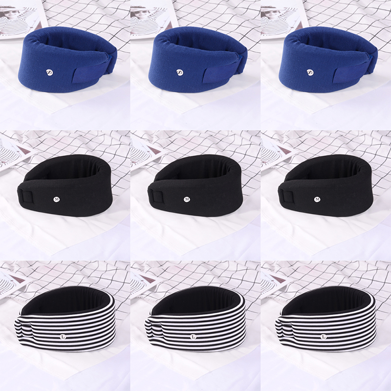 Medical Cervical Collar Adjustable Soft Foam Neck Brace Support Vertebra Dislocation Fixation Pain Relief First Aid Neck Care