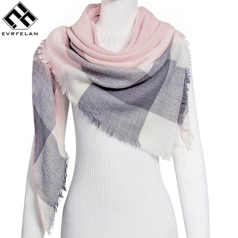 New Fashion Winter Scarf For Women Warm Brand Scarf Luxury ...
