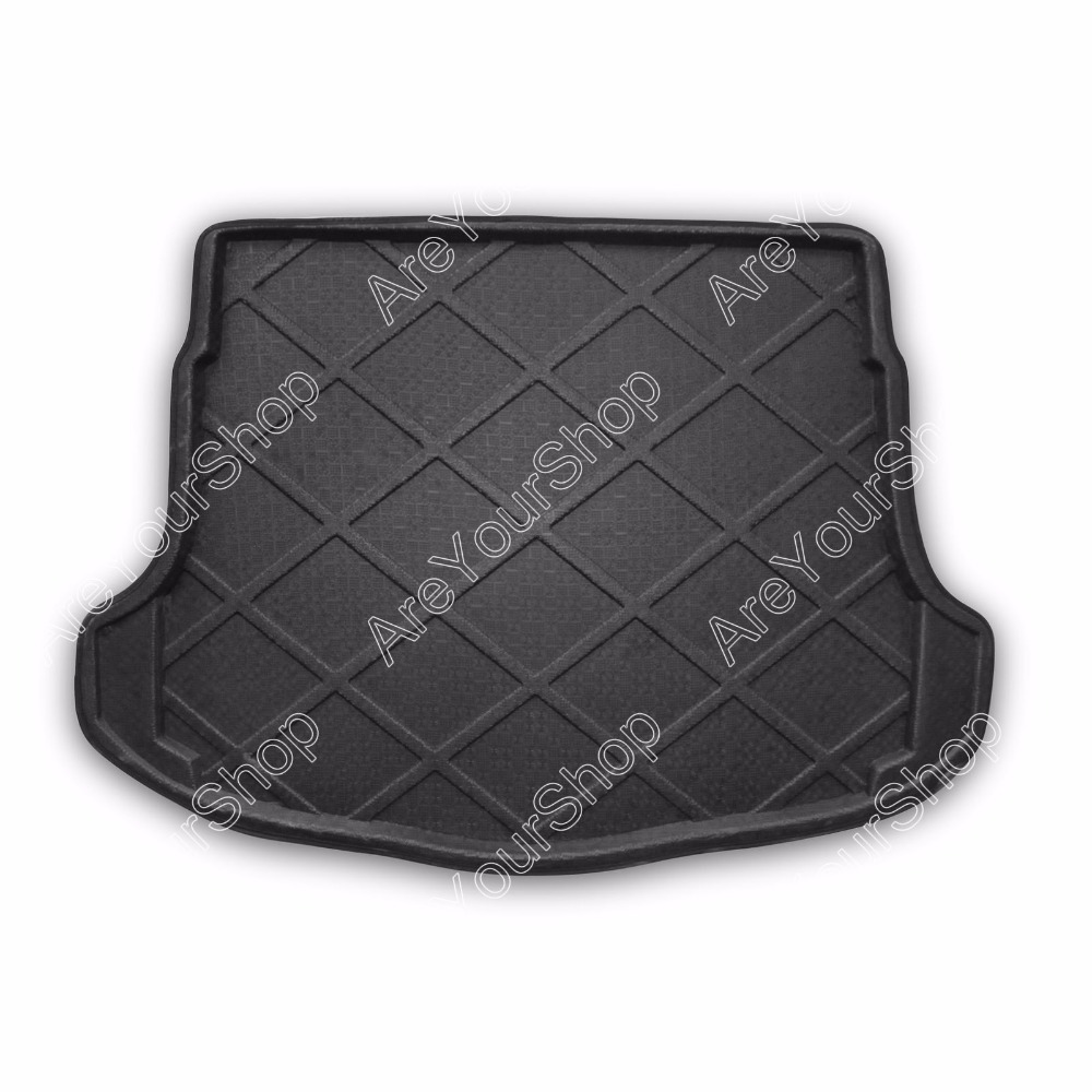 Car Auto Boot liner Cargo Mat Tray Rear Trunk Stickers For Honda CR-V 2007-2011 1PCS Black High Quality Car Styling Covers car rear trunk security shield cargo cover for volkswagen vw tiguan 2016 2017 2018 high qualit black beige auto accessories