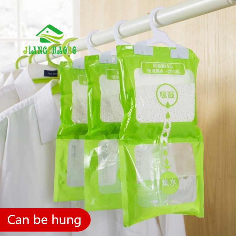JiangChaoBo Hangable Wardrobe Absorbent Moisture-proof Dehumidifier Wardrobe Moisture Absorbing Bag Anti-mold Desiccant Box