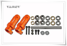 Tarot 500DFC Main Rotor Holder Seat TL50903 2 Orange Tarot 500 RC Helicopter Spare Parts FreeTrack