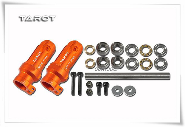 Tarot 500DFC Main Rotor Holder Seat TL50903 2 Orange Tarot 500 font b RC b font