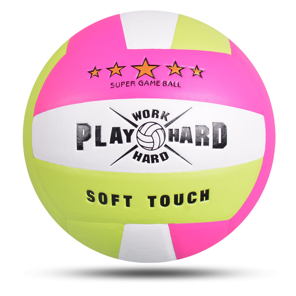 2019 Professional Soft Touch Volleyball Handball Match Training Official Volley Ball Size Weight Men Women Voleyball Voleibol