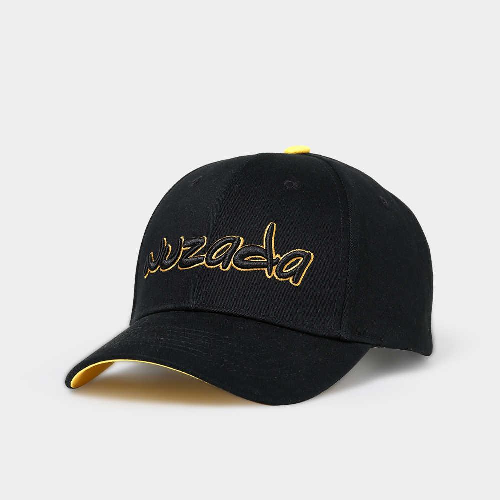 NUZADA эксклюзивная надпись-логотип высокий класс для мужчин и женщин пара нейтральная хлопковая бейсболка