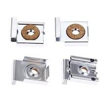 Набор крепежных скоб для зеркала dreld 4 шт/компл с пружинным
