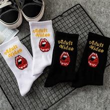 1 Pair Fashion Men Cotton Crew Socks Hip Hop Harajuku Socks Street Skateboard Socks Male Fashion