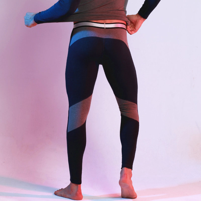 ae3cd28481be4 Winter Mens Leggings & Long Johns Running Compression Pants Sport Fitness  Gym Wear Tights Thicken Velvet Warm Elastic Leggings -in Running Tights from  ...