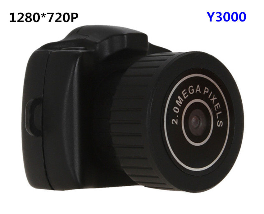 4 ГБ карты + 1280*720 P HD Micro Портативный мини веб-камера цифровой Камера видео Регистраторы Y3000