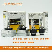 High brightness Xenon Lamp Headlight D1S D2S D3S D4S D2R D3R D4R HID Bulb High Low Car Headlight 12v 35w Xenon Headlamp 2pcs 2pcs 3 0 inch hella 5 car bi xenon hid projector lens metal holder d1s d2s d3s d4s xenon kit lamp car headlight universal modify