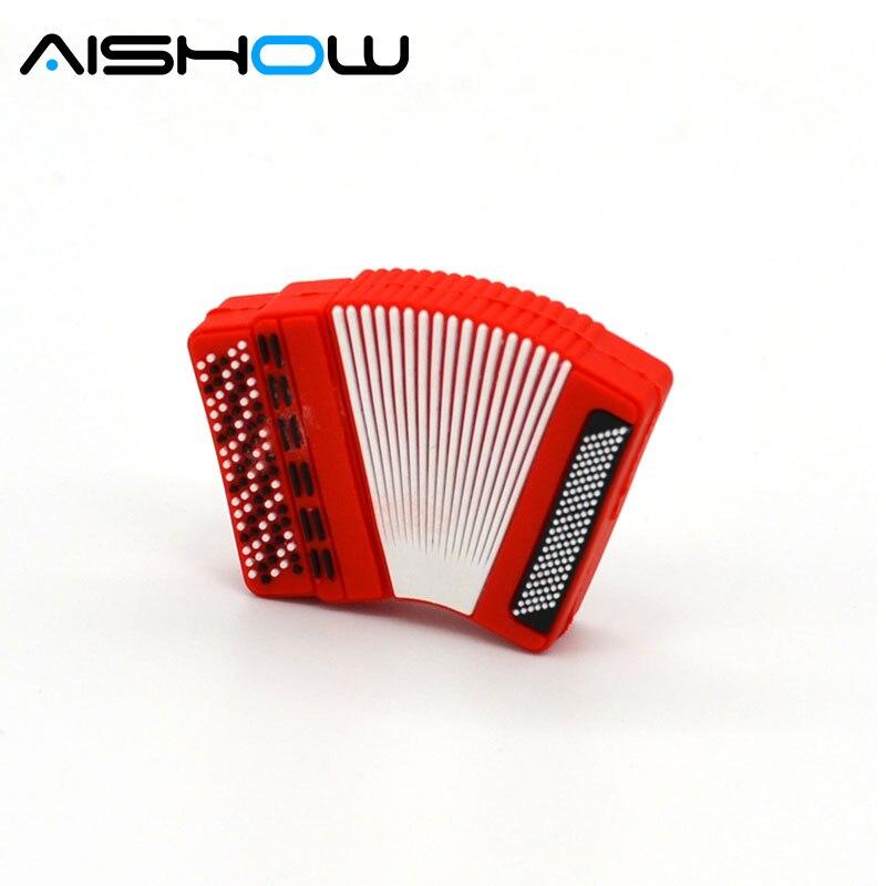 Fashion U disk pendrive cartoon guitar/violin/piano/Musical note pendriver pen drive 4GB 8G 32GB usb flash drive U disk